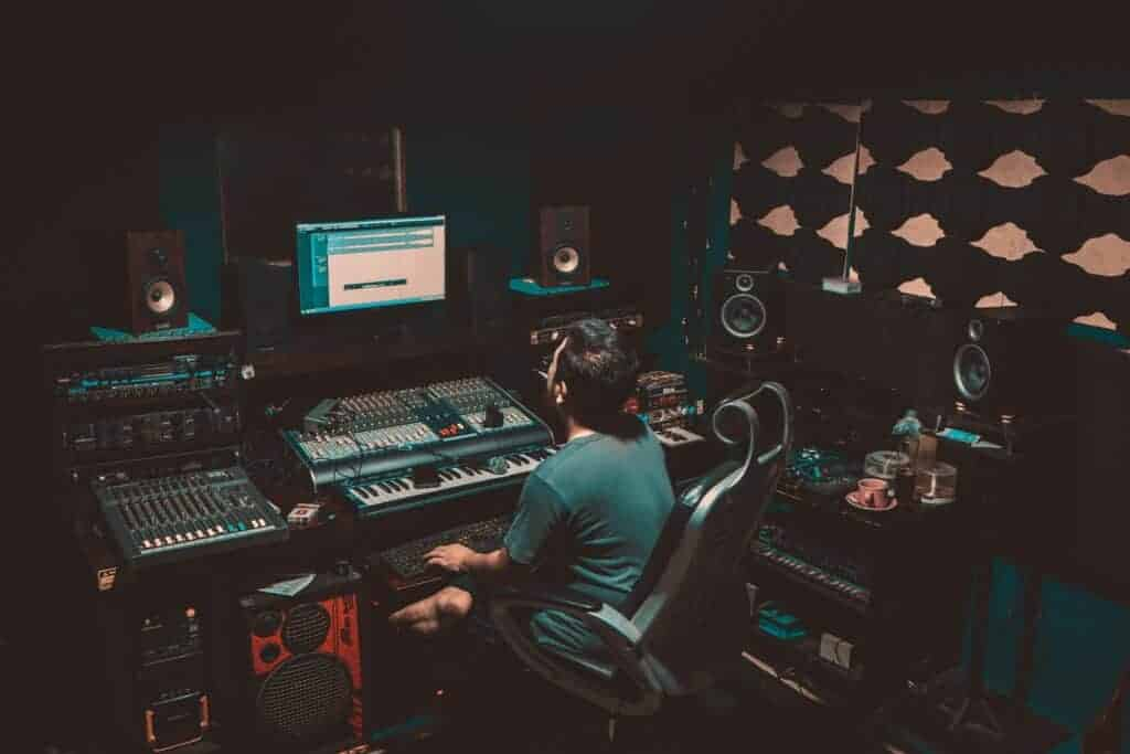 mixing and mastering